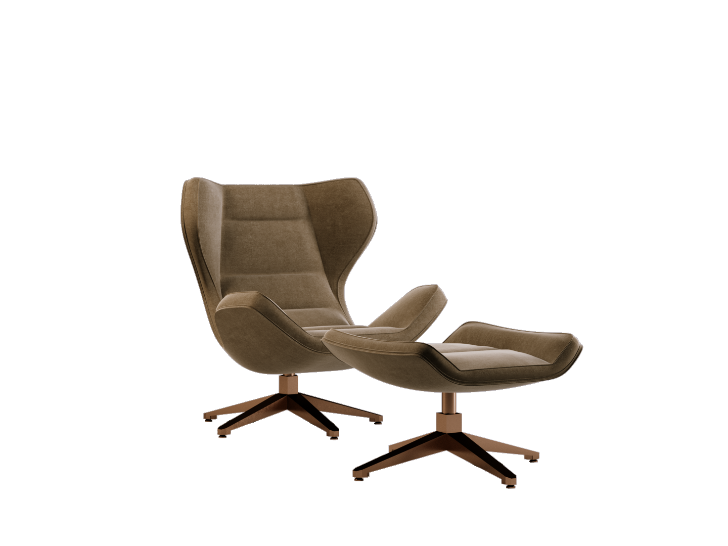 Lagos office chair e pouf